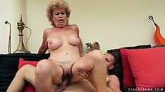 Mature slut is like a good bottle of wine - gets better with age
