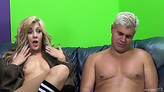 Naughty Emily Kae makes nude post-coital interview a total must-see
