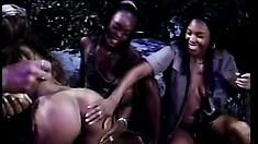 Naughty Fonda French plays with her hot girlfriend Chocolate's muff