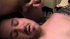 Three horny guys exchange blowjobs, have fun with sex toys and enjoy anal sex