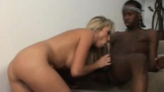 Handyman Jon Jon Pipe gets paid by Alana with head and both holes drilled