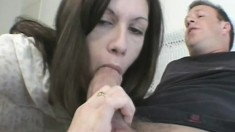 Sweet college girl screams with every deep thrust of cock in her butt