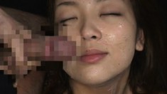 Japanese sluts love the taste of their men's freshly milked cum