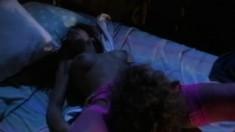 Teri Weigel seduces Joey Silvera and has him drilling her juicy peach