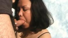 Brittany enjoys feeling a bulging cum gun in her lusty mouth