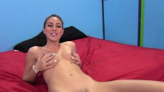 Gorgeous and lustful chicks put their cocksucking skills to the test
