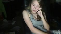 Pink Nipples On Teen On Webcam