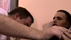 Barely legal amateur self gay Cousins Sucked Off Together