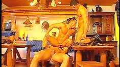 Lots of pay is a great way for these military boys to go gay for the day