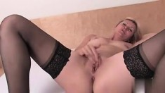 Girls Out West Amateur MILF toys her wet pussy
