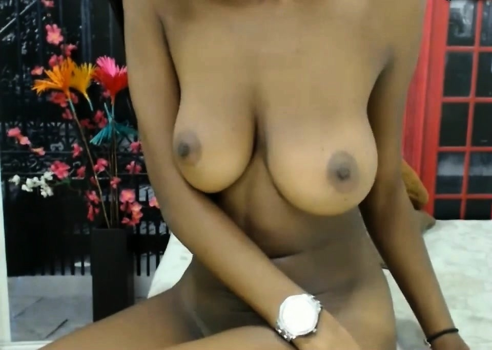Cumming on her tits asian