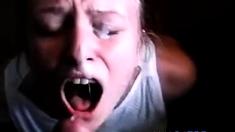 She orgasms while getting a facial!