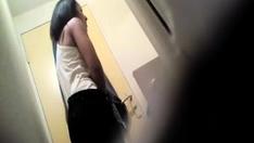 Hidden Cam Films Naked Latin Teen After Part1