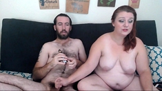 Amateur bbw wife goes clam fishing on webcam