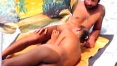 Nude Beach - Hot Loving Couple