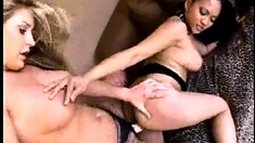 Lesbian Pleasure With Strapon Toys