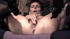 older lady having an orgasm