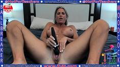 Mature Masturbate With Big Toy