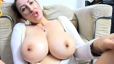 Mature french girl with monster tits